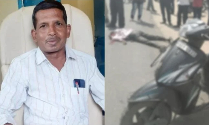 Tipper Killed By Gram Panchayat Secretary-TeluguStop.com