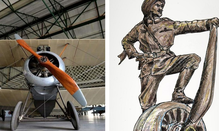 Telugu Indians, Online Funds, Sikh Fighter Pilot, Sikh Fighter Pilot Memorial In Uk To Honor Indians Who Fought In World Wars, Uk, World War-Telugu NRI