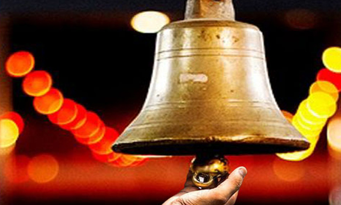 What Is The Significance Of Bells In Hindu Temples-TeluguStop.com