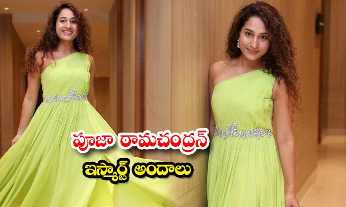 Stunning actress pooja ramachandran trendy Images-పూజా రామచంద్రన్ ఇస్మార్ట్ అందాలు