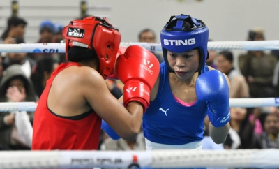 Ace Boxer Mary Kom Enters 51kg Semis, Ensures Medal-TeluguStop.com