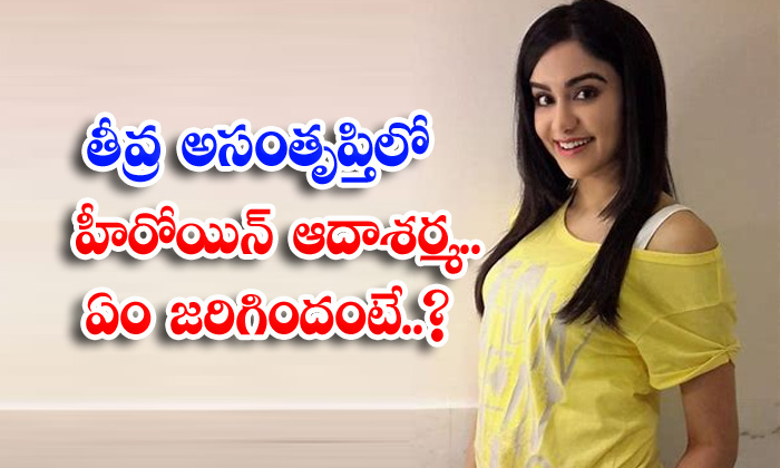 Adah Sharma Disappoints On Kollywood Industy-TeluguStop.com