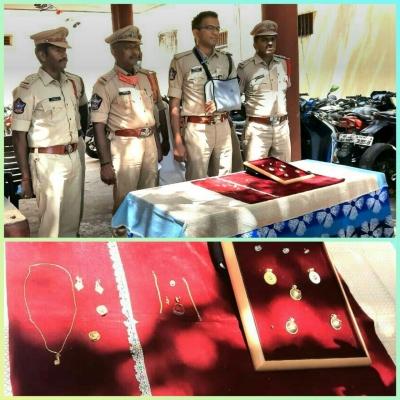 Ap Police Crack Temple Burglary In 2 Days With Help Of Cctv-TeluguStop.com