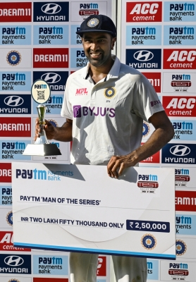 Ashwin Not Surprised At Sundar's Batting, Dad Upset At Tailenders-TeluguStop.com