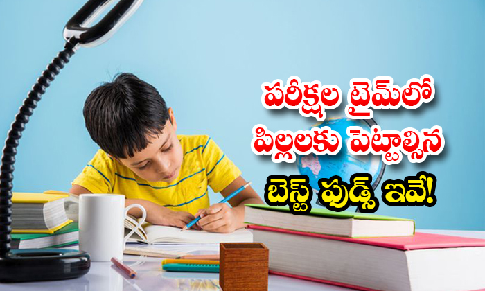 Best Food For Children In Exam Time-TeluguStop.com