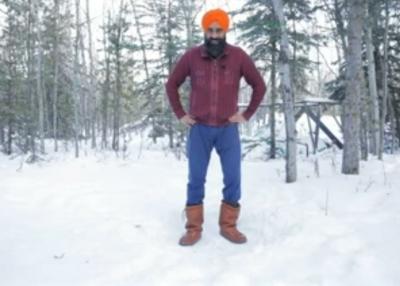 Canada's Dancing Sikh Has Bhangra Therapy To Beat Sub-zero Cold-Cinema/ShowBiz News-Telugu Tollywood Photo Image-TeluguStop.com
