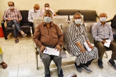 Delhi: Senior Citizens Dominated Vaccination Drive-TeluguStop.com