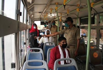 Dtc Staff To Don Khadi Face Masks-TeluguStop.com