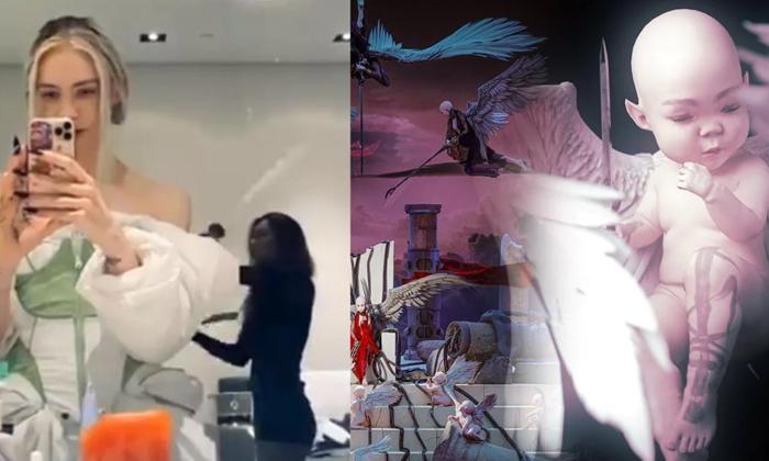 Grimes Sells Digital Art Collection 5 8 Million Dollars 20 Minutes-TeluguStop.com