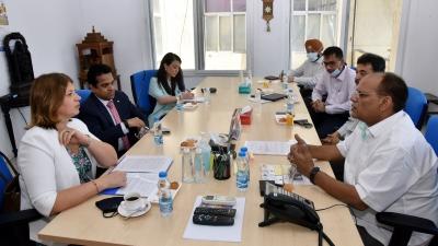 Estonia's Ambassador Calls On T'gana Chief Secretary-TeluguStop.com