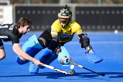 Hockey: India Thrash Germany 6-1 In First Match-TeluguStop.com