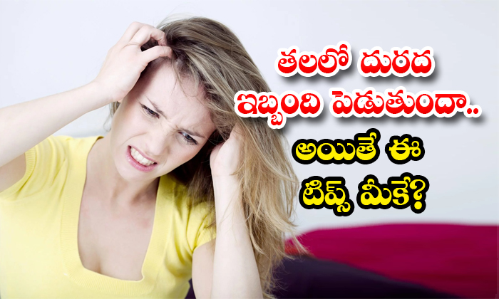 Home Remedies For Get Rid Of Head Itching-TeluguStop.com