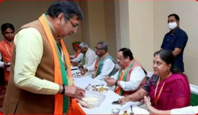 How Poonia Outplayed Raje In Rajasthan During Nadda's Visit-Latest News English-Telugu Tollywood Photo Image-TeluguStop.com