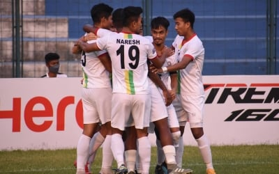 I-league: Bidyashagar Hat-trick Helps Trau Get Past Mohammedans 4-0-TeluguStop.com