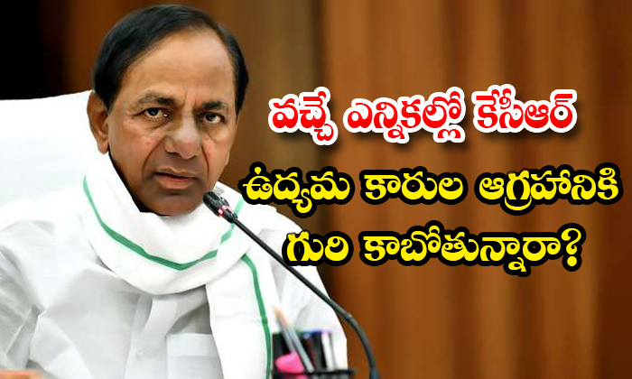 Is Kcr Will Face The Anger Of Telangana Activists In Coming Elections-TeluguStop.com