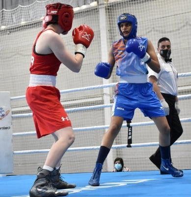 Jasmine Ensures Medal In 1st International Boxing Meet (ld)-TeluguStop.com