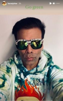 Karan Johar Urges All To 'go Green'-TeluguStop.com