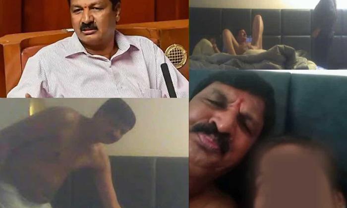 Karnataka Bjp Minister Resigns Over Sexual Harassment Allegations-లైంగిక ఆరోపణలు ఎదుర్కొంటున్న కర్ణాటక బీజేపీ మంత్రి రాజీనామా..-General-Telugu-Telugu Tollywood Photo Image-TeluguStop.com