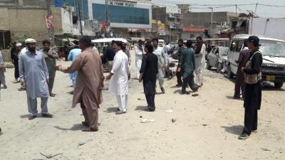 Landmine Blast In Pakistan Kills 2 Kids-TeluguStop.com