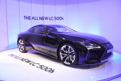 Lexus India Launches Limited-edition Lc 500h At Rs 2.15 Cr-TeluguStop.com