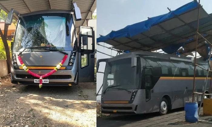 Mahesh Babu New Caravan Photos Goes Viral In Social Media-మహేష్ బాబు కొత్త కారవాన్ చూశారా.. ఖరీదెంతంటే..-Latest News - Telugu-Telugu Tollywood Photo Image-TeluguStop.com