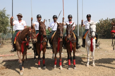 Mohit Of Indian Navy Bags Rings And Peg Tent Pegging Gold-TeluguStop.com