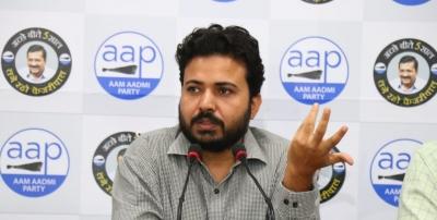 People In Delhi Rejected Bjp For Corruption: Aap-TeluguStop.com