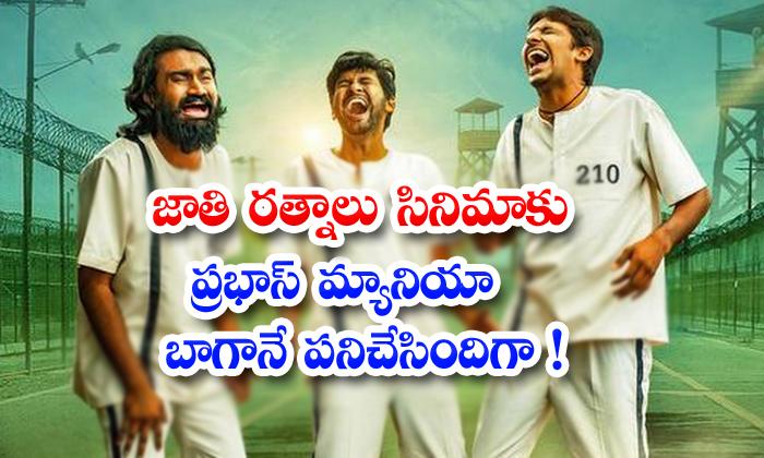 Prabhas Maniya Worked Superbly For Jathi Ratnalu Movie-TeluguStop.com
