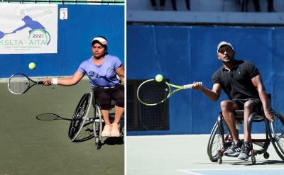 Pratima, Shekhar In Finals Of Kslta-aita Wheelchair Tennis-TeluguStop.com