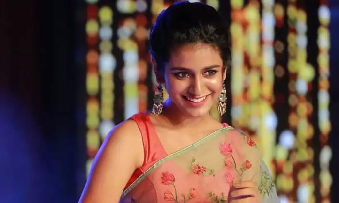 Priya Prakash Wariar New Movie With Teja Sajja Ishq-వింక్ బ్యూటీ రెండవ ప్రయత్నం అయినా ఫలితాన్ని ఇస్తుందా-Latest News - Telugu-Telugu Tollywood Photo Image-TeluguStop.com