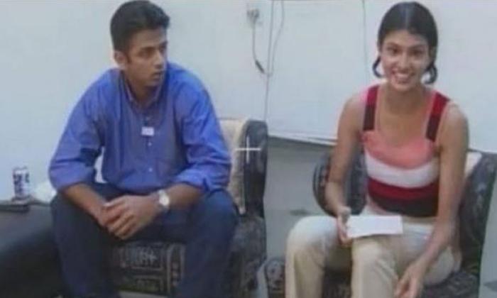 He Young Woman Who Locked Rahul Dravid In The Room Because-రాహుల్ ద్రావిడ్ ను గదిలో నిర్బంధించిన యువతి.. ఎందుకంటే..-General-Telugu-Telugu Tollywood Photo Image-TeluguStop.com