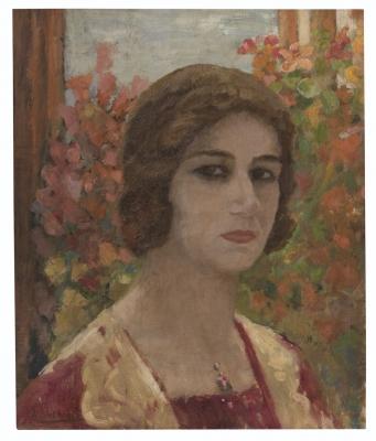 Rediscovered Amrita Sher-Gil Painting Heads To Auction-Latest News English-Telugu Tollywood Photo Image-TeluguStop.com