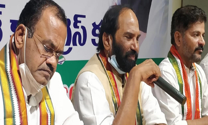 Attempts By Congress Seniors Not To Give Credit To Rewanth Reddy In Nagarjuna Sagar By Election-రేవంత్ కు క్రెడిట్ రాకుండా సీనియర్ల వ్యూహం ఇదేనా -Political-Telugu Tollywood Photo Image-TeluguStop.com