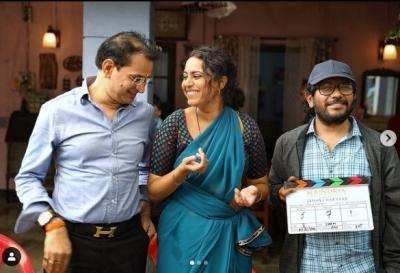 Swara Bhasker Begins Shooting For 'jahaan Chaar Yaar' In Lucknow-TeluguStop.com
