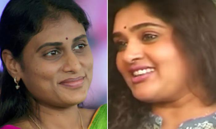 Actress Priya Meets Sharmila Party Telangana-షర్మిల పార్టీలోకి మరో నటి…ఆ నటి ఎవరంటే-Latest News - Telugu-Telugu Tollywood Photo Image-TeluguStop.com