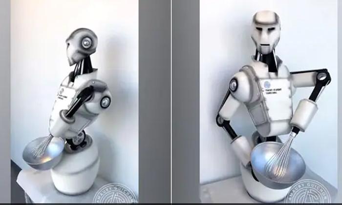 Viral Video How Good Is The Chocolate Robot-వైరల్ వీడియో: చాక్లెట్ రోబో ఎంత బాగుంది కదా..-General-Telugu-Telugu Tollywood Photo Image-TeluguStop.com