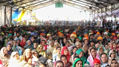 Women To Lead Protests At Singhu Border On March 8-TeluguStop.com