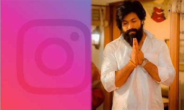 Yash Enters Fastest 5 Million Family On Instagram-కన్నడ పరిశ్రమలో ఫస్ట్ ఎవర్ రికార్డ్ సృష్టించిన యష్..-Latest News - Telugu-Telugu Tollywood Photo Image-TeluguStop.com