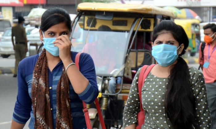 Telangana Government 1000 Fine For Not Wearing Mask-మాస్క్ లేకుంటే 1000 జరిమానా.. అధికారిక ఉత్తర్వులు జారీ..-General-Telugu-Telugu Tollywood Photo Image-TeluguStop.com