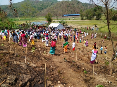 32K Saplings Planted In 32 Mins In Assam To Promote Grow With Democracy'-Latest News English-Telugu Tollywood Photo Image-TeluguStop.com