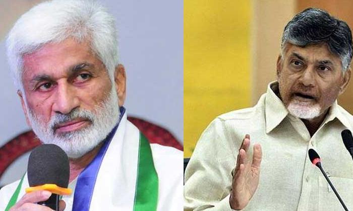 Criticisms Of Vijayasaireddys Attitude Towards The Way Chandrababu Was Told On His Birthday-TeluguStop.com