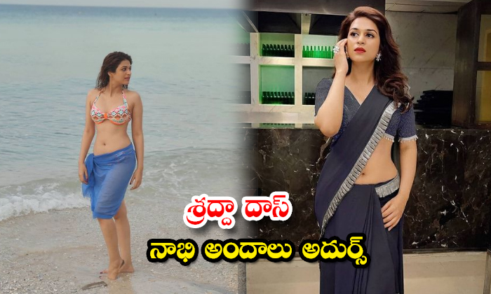 Beauty Shraddha Das New Images-శ్రద్దా దాస్ నాభి అందాలు అదుర్స్