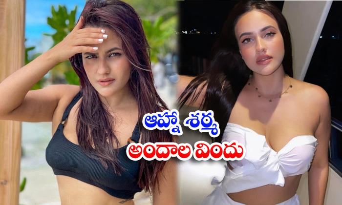 Bollywood actress aahna sharma beautiful viral images-ఆహ్నాశర్మ అందాల విందు