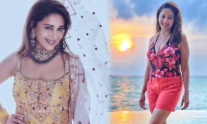 Bollywood Actress Madhuri Dixit Sensational Images-telugu Actress Hot Spicy Photos Bollywood Actress Madhuri Dixit Sensa High Resolution Photo