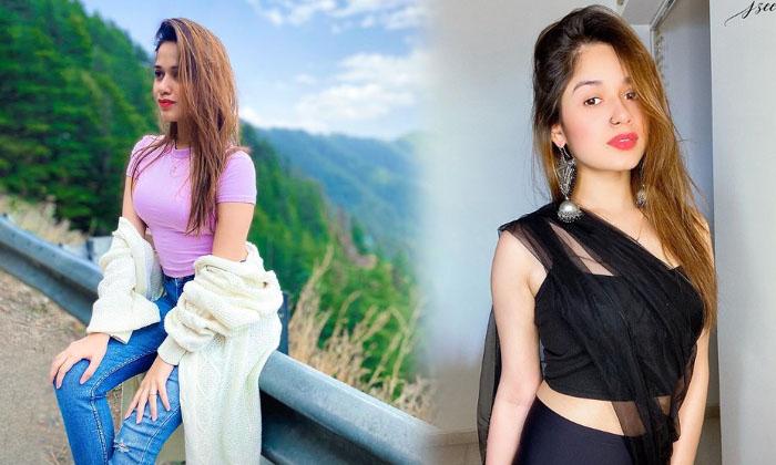 Bollywood Model And Actress Jannat Zubair Rahmani Romantic Clicks-telugu Actress Hot Photos Bollywood Model And Actres High Resolution Photo