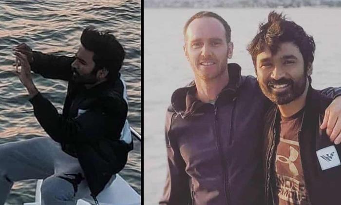 Dhanush Starts Shooting For 'the Gray Man' Movie In California-TeluguStop.com