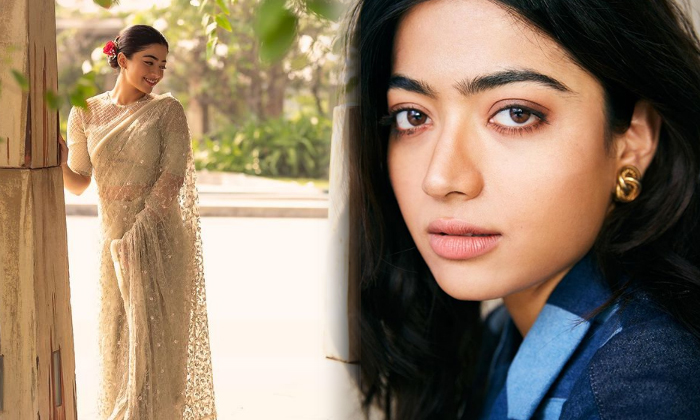 Glamorous Photos Of Sensation Actress Rashmika Mandanna-telugu Actress Hot Photos Glamorous Photos Of Sensation Actress High Resolution Photo
