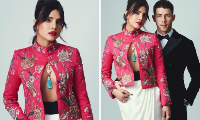 Pic Talk: Priyanka's Hot Date In An Open Suit-Latest News English-Telugu Tollywood Photo Image-TeluguStop.com