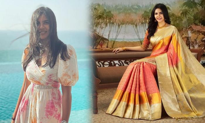 Kalyani Priyadarshan Glamorous Images-telugu Actress Hot Photos Kalyani Priyadarshan Glamorous Images - Telugu Actress High Resolution Photo