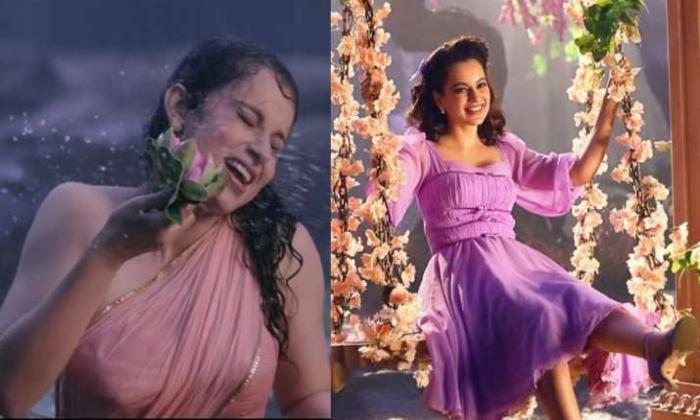Kangana Ranaut Shot In The Rain For 16 Hours-TeluguStop.com